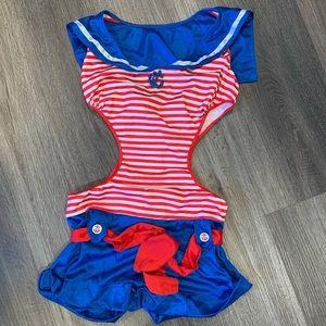 Leg Avenue - Vintage Sailor Girl Costume